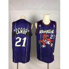2019 Men Toronto Raptors 21 Camby Purple NBA Nike Jerseys