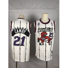 2019 Men Toronto Raptors 21 Camby white NBA Nike Jerseys