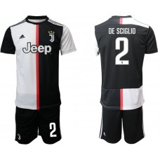 Men 2019-2020 club Juventus FC home 2 black Soccer Jerseys