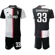 Men 2019-2020 club Juventus FC home 33 black Soccer Jerseys