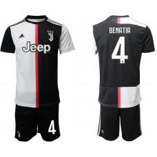 Men 2019-2020 club Juventus FC home 4 black Soccer Jerseys