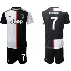 Men 2019-2020 club Juventus FC home 7 black Soccer Jerseys