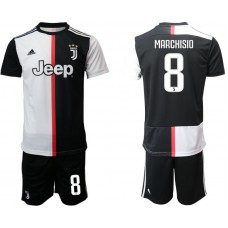 Men 2019-2020 club Juventus FC home 8 black Soccer Jerseys