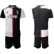 Men 2019-2020 club Juventus FC home black Soccer Jerseys