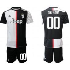 Men 2019-2020 club Juventus FC home customized black Soccer Jerseys