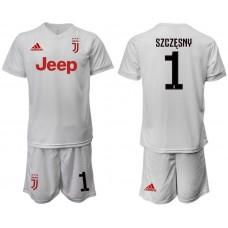 Men 2019-2020 club Juventus away white 1 Soccer Jerseys