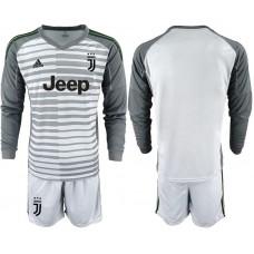 Men 2019-2020 club Juventus gray long sleeve goalkeeper Soccer Jerseys