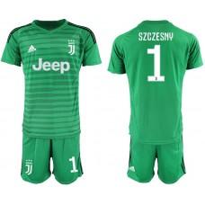 Men 2019-2020 club Juventus green goalkeeper 1 Soccer Jerseys1