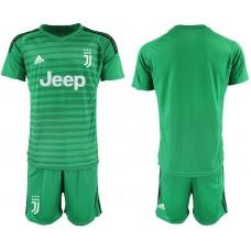 Men 2019-2020 club Juventus green goalkeeper Soccer Jerseys