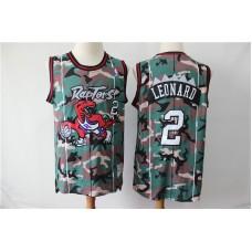 Men Toronto Raptors  2 Kawhi Leonard Camo Swingman Jersey