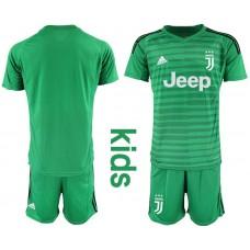 Youth 2019-2020 club Juventus green goalkeeper Soccer Jerseys