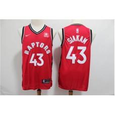 Men Toronto Raptors 43 Siakam Red Game Nike NBA Jerseys