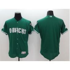 2016 MLB FLEXBASE Arizona Diamondbacks Blank Green Jerseys