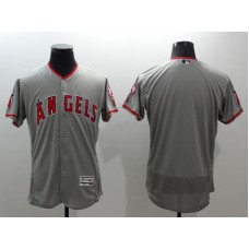2016 MLB FLEXBASE Los Angeles Angels blank grey jerseys