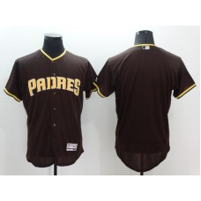2016 MLB FLEXBASE San Diego Padres Blank Brown Jerseys