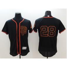 2016 MLB FLEXBASE San Francisco Giants 28 Posey black jerseys