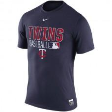 2016 MLB Minnesota Twins Nike 2016 AC Legend Team Issue 1.6 T-Shirt - Navy