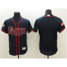 2016 MLB Tampa Bay Rays Blank Blue Elite Fashion Jerseys