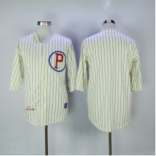 2017 MLB Philadelphia Phillies Blank 1921 Throwback Jerseys