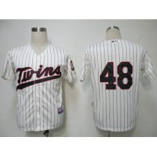 MLB Minnesota Twins 48 Pavano Gream Jerseys