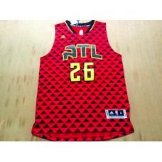 NBA Atlanta Hawks 26 Kyle Korver red 2016 Jerseys