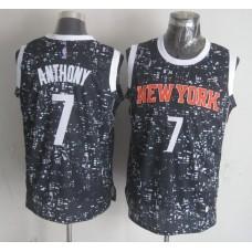 NBA New York Knicks 7 Anthony Black National Flag Star Jersey