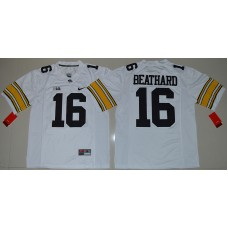 2016 NCAA Iowa Hawkeyes 16 C.J Beathard White College Football Limited Jersey