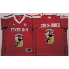 2016 NCAA Texas A&M Aggies 9 Seals-Jones Red Fashion Edition Jerseys