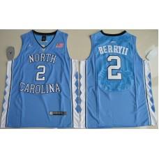 2016 North Carolina Tar Heels Joel Berry II 2 College Basketball Blue Jersey
