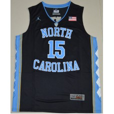 2016 North Carolina Tar Heels Vince Carter 15 College Basketball Jersey - Black
