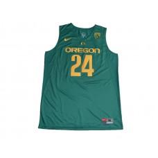 2017 Oregon Ducks Dillon Brooks 24 College Basketball Jersey - Green