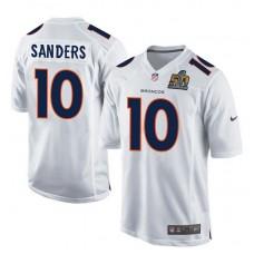 2016 Denver Broncos 10 Sanders White youth jerseys