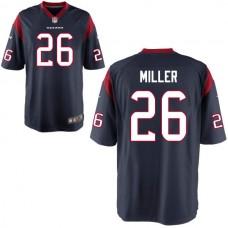 2016 Houston Texans 26 MILLER blue Nike Kids Jerseys