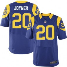 2016 Los Angeles Rams 20 Joyner Blue Nike Elite Jerseys
