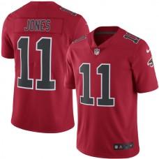 2016 Men  Atlanta Falcons 11 Julio Jones Nike Red Color Rush Limited Jersey