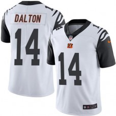 2016 Nike Cincinnati Bengals 14 Andy Dalton White Men NFL Limited Rush Jersey