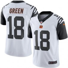 2016 Nike Cincinnati Bengals 18 A.J. Green White Men NFL Limited Rush Jersey