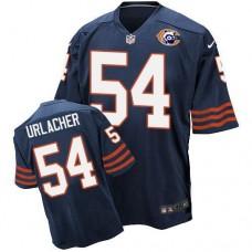 2016 Nike NFL Chicago Bears 54 Urlacher throwback blue jersey
