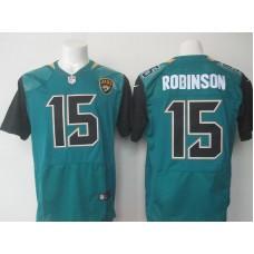 2016 Nike NFL Jacksonville Jaguars 15 Robinson green jerseys