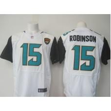 2016 Nike NFL Jacksonville Jaguars 15 Robinson white jerseys