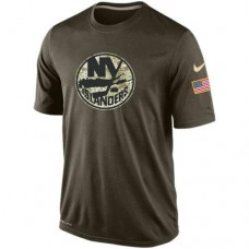 2016 Mens New York Islanders Salute To Service Nike Dri-FIT T-Shirt