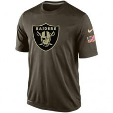 2016 Mens Oakland Raiders Salute To Service Nike Dri-FIT T-Shirt