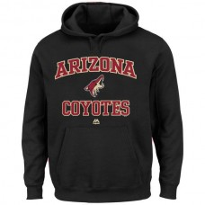 2016 NHL Arizona Coyotes Majestic Heart Soul Hoodie - Black
