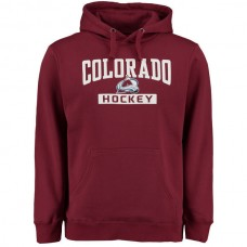 2016 NHL Colorado Avalanche Rinkside City Pride Pullover Hoodie - RED