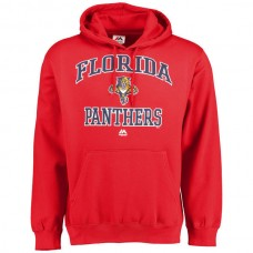 2016 NHL Florida Panthers Majestic Heart & Soul Hoodie - Red