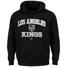 2016 NHL Los Angeles Kings Majestic Heart  Soul Hoodie - Black