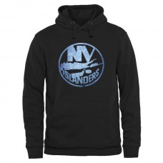 2016 NHL New York Islanders Rinkside Pond Hockey Pullover Hoodie - Black