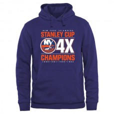 2016 NHL New York Islanders Rinkside Victor Pullover Hoodie - Royal