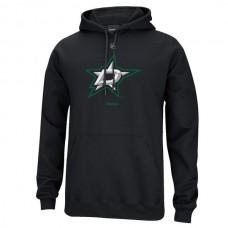 2016 NHL Reebok Dallas Stars Primary Logo Pullover Hoodie - Black