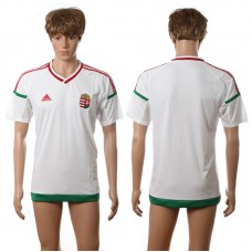 European Cup 2016 Hungary away blank white AAA+ soccer jerseys